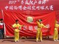 2017齐文化产业杯中国淄博全国空竹球大赛在淄博体育场进行